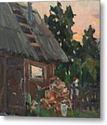 Near The Russian Bath Metal Print
