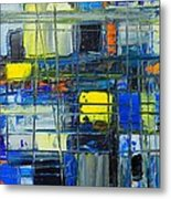 Near The Sunrise - Abstract Original Painting - Abwgc1 Metal Print