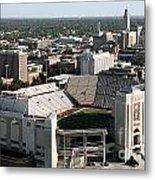 Nebraska Cornhuskers Stadium Lincoln Metal Print