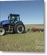 Nebraska Farming Metal Print