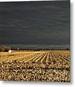 Nebraska Fields Metal Print