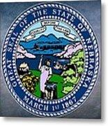 Nebraska State Seal Metal Print