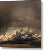 Nebraska Storms A Brewin Metal Print