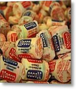 Necco Wafers Metal Print