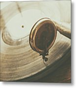 Needle On The Record Metal Print