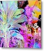 Negative Plants Metal Print
