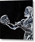 Negative Thoughts Metal Print