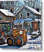 Neighbourhood Snowplough 2 Metal Print