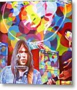 Neil Young-crazy Horse Metal Print