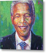 Nelson Mandela 1 Metal Print
