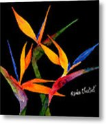 Neons Of Paradise Metal Print
