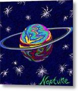Neptune Ss Metal Print