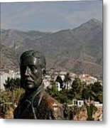 Nerja View Metal Print