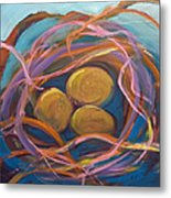 Nest Of Prosperity 5.2 Metal Print