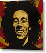 Nesta Robert Marley  Metal Print