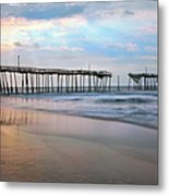 Nesting On Broken Dreams - Outer Banks Metal Print