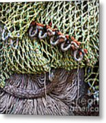 Nets And Knots Number Three Metal Print by Elena Nosyreva