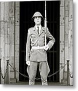 The Soldier Metal Print