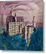 Neuschwanstein Castle  Metal Print by Metal Art Studio