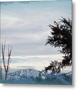 Nevada Blue Metal Print