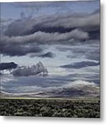 Nevada Blue Skies Metal Print