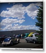Nevada Blue Sky Metal Print