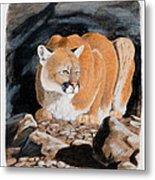 Nevada Cougar Metal Print