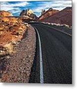 Nevada Highways Metal Print