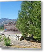 Nevada Landmark Metal Print