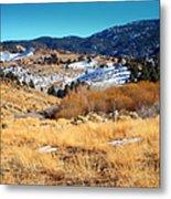 Nevada Landscape Metal Print