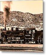Nevada Northern Railway Metal Print
