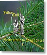 Never Afraid To Go Out On A Limb Metal Print