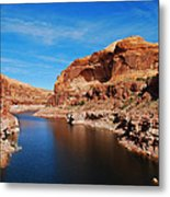 Never Ending Waterways Metal Print