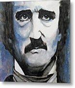 Never More - Poe Metal Print