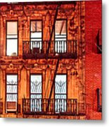 Never Sleep - Nyc At Night Metal Print by Mark E Tisdale