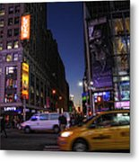 Never Sleeps Metal Print