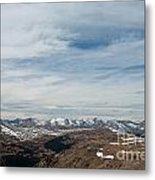 Never Summer Mountains From Rock Cut In Moraine Park Rocky Mountain National Park Metal Print