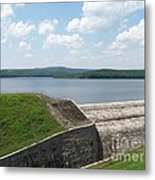 Neversink Reservoir Dam Metal Print