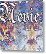 Nevie - Wise Metal Print by Christopher Gaston