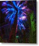 New Age Tropical Palm Metal Print
