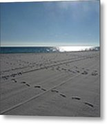 New Beach Metal Print