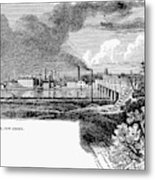 New Brunswick, 1876 Metal Print