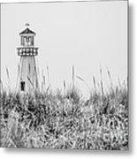 New Buffalo Lighthouse In Southwestern Michigan Metal Print