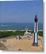 New Cape Henry Lighthouse Metal Print