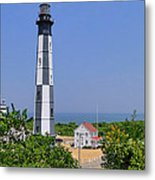 New Cape Henry Lighthouse Vertical Metal Print