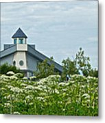 New Church In Ninilchik-ak  Metal Print
