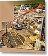 New Commercial Construction Site 02 Metal Print