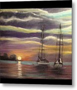 New Day On The Bay Metal Print