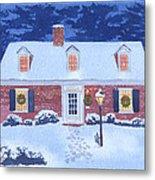 New England Christmas Metal Print