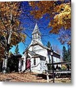 New England In New Jersey Metal Print